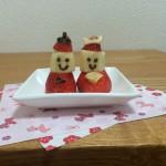 ひな祭りのケーキ飾りを手作りしよう!いちご雛人形の作り方