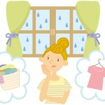 梅雨の生乾き対策に!洗濯物の部屋干し方法と早く乾かすコツ