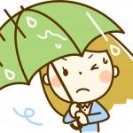 傘の手入れ方法!汚れの落とし方と撥水の復活方法とは?
