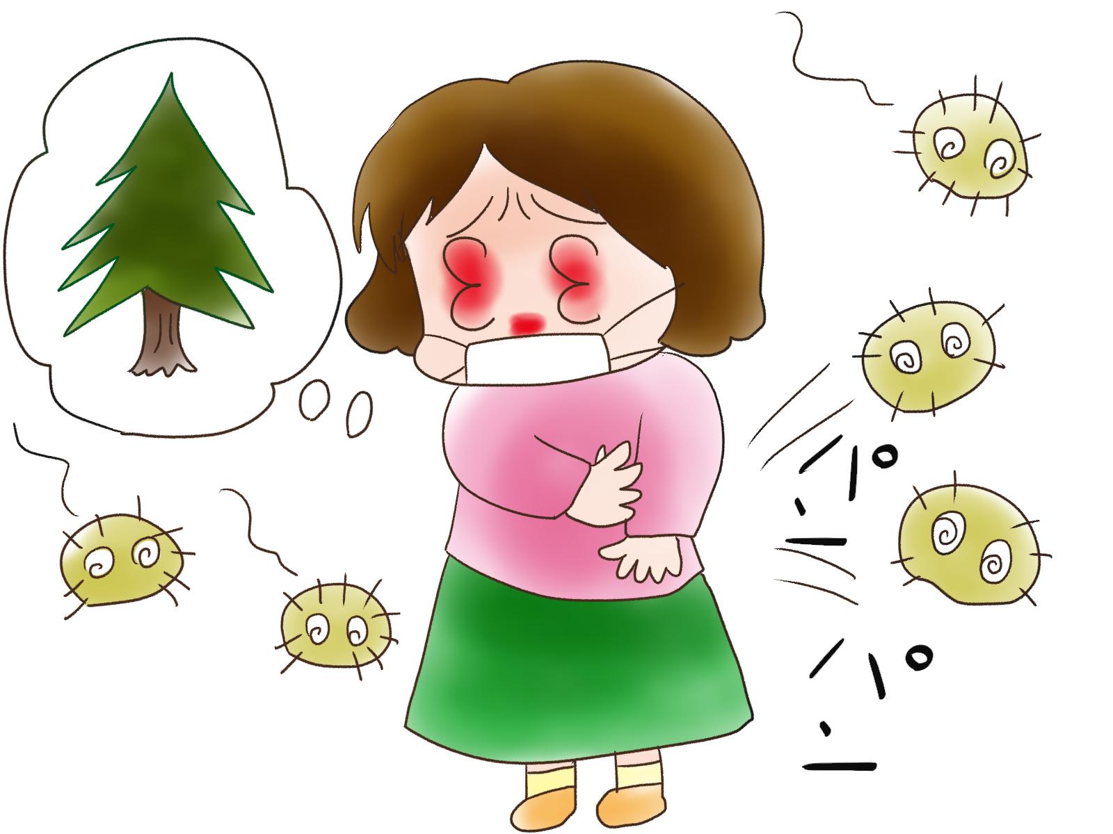 が かゆい 症 目 花粉