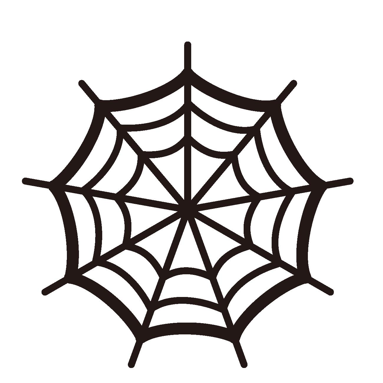 クモの巣は、型通りに切るととても難しいですね。 こちらに、簡単に作れるクモの巣の切り絵をご紹介していますのでどうぞ参考になさってください。