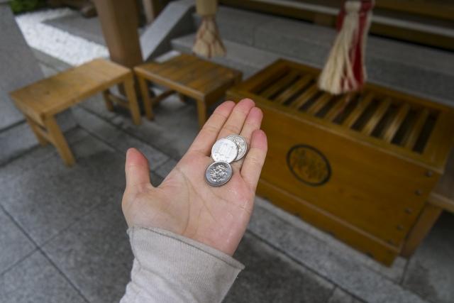 賽銭 円 お 10