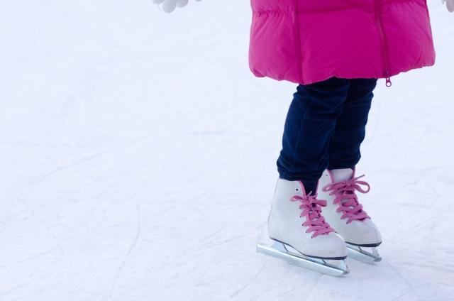スケートしている画像